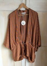 Bnwt Hayden Los Angeles Amber Stripy Top Size L