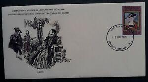 1978 Grenada Peter Paul Rubens Anniv FDC ties 5c Stamp cd Carriacou