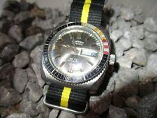 TEMPORIS 85 TS Diver Taucheruhr Automatic Day Date 37 mm 70er 1970s