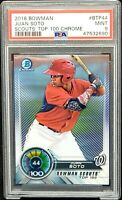2018 Bowman Chrome Nationals Star JUAN SOTO Rookie Card PSA 9 MINT Pop 80