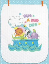 Cross Stitch Kit ~ Dimensions Rub-a-Dub Baby Quilt #70-74368 OOP SALE!