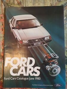 1980 FORD FALCON XD ESP FAIRMONT FAIRLANE CORTINA ESCORT SUNDOWNER RS RS2000 XE