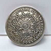 1 Dollar Sky-eye Snake Commemorative Silver Coin v Y2W0