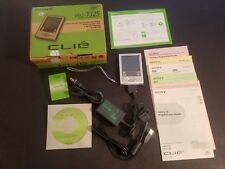 TESTED GOOD SONY CLIE' - PALMARE PALM  PEG TJ25 & ACCESSORIES In Original Box