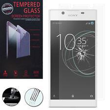 "1 Lámina Vidrio Templado Protector Protección para Sony Xperia L1 5.5"" G3311"
