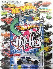 Hot Wheels 2013 JUKEBOX HIP HOP MITSUBISHI '08 LANCER EVOLUTION WHITE,US WALMART