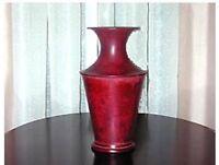 Metal urn, vase