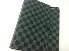 Luxury Grey/Black checker design iPad2/3 case