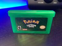 FREE SHIPPING - Pokemon Leaf Green GBA - TESTED & SAVES - USA Seller