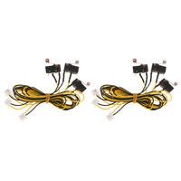 6Pcs 600mm Limit Endstop Mechanical Printer Switch 3D Printer Endstop Cable