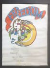 Vintage 70s PSYCHEDELIC POSTER My Freedom Is Your Freedom HIPPIE ERA COOL GROOVY
