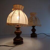 2 lampes chevet éclairage vintage art nouveau déco design XXe PN France N2973