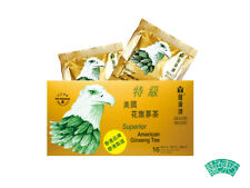 Cure-All Superior American Ginseng Tea, Powerful Health Supplements, 5g x16 bags