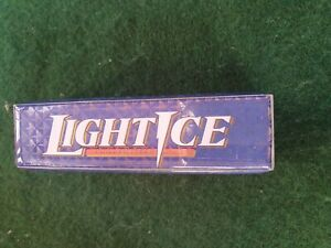 LIGHT   ICE - Chill filtered ice - Original Vintage beer tap top