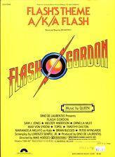 QUEEN FLASH'S THEME A/K/A FLASH SHEET MUSIC-FLASH GORDON-PIANO/VOCAL/GUITAR-1980