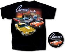 2nd Generation Chevy Camaro 1970-81 Back Graphic Black Men's T-shirt XXL 2XL
