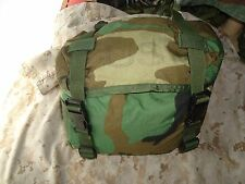 U.S. woodland camoflage field training pack, butt pack, waist pack
