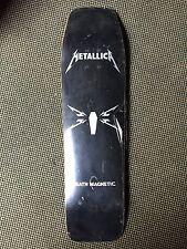 Metallica Death Magnetic Coffin Skateboard