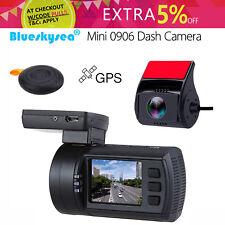 Mini 0906 Dual HD 1080P Lens Car Dash Camera GPS DVR Cam Sony IMX291 Blueskysea