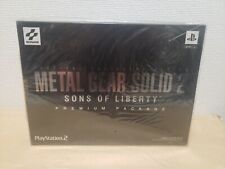 NEW Metal Gear Solid 2 Sons of Liberty Premium Package  SEALED - UNDER $300 SALE