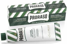 Proraso Eucalyptus and Menthol Shaving Cream 150ml Green Tube 150ml