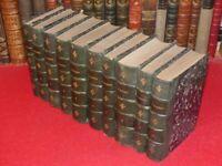 VICTORIEN SARDOU  OEUVRES 33 ouvrages reliés en 10 VOLUMES EO Théatre Offenbach