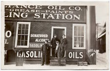 RP Postcard Reliance Oil Company Store Front in Minneapolis, Minnesota~107812