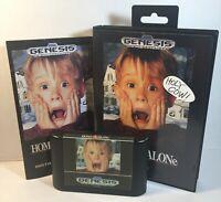 Home Alone Sega Genesis 1992 Complete Game, Manual & Box