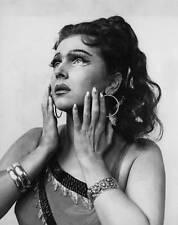 OLD LARGE PHOTO of famous Russian Opera Singer Galina Vishnevskaya c1960 1