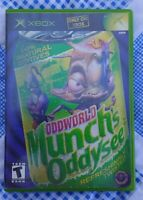 Oddworld: Munch's Oddysee (Microsoft Xbox) Game Works Complete