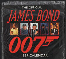 Original Vintage James Bond 1997 Calendar