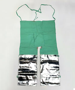 2 PAIRS WELDING / GLASS BLOWING / FOUNDRY / BLACKSMITH Protective Apron / Chaps