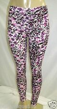 NWT H&M WOMEN PINK LEOPARD PRINT SKINNY FIT LEGGING SIZE SMALL US