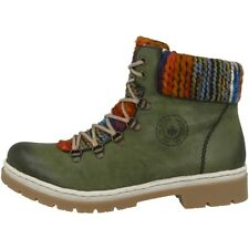 Rieker Eagle-Poncho Shoes Women's Boots Ankle Boot Boots Boat Green Y9432-52