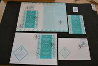 Mint Stamp + Souvenir Sheet +Card + 2 FDC Aga Khan Diamond Jubilee 2018 Portugal