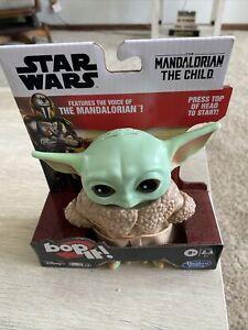 🔥Bop IT! Star Wars The Mandalorian The Child Baby Yoda Disney Hasbro🔥