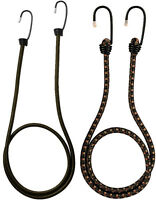 4 Pack - Camouflage Heavy Duty Steel Bungee Shock Cords Rothco 10136 10185