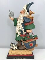 "David Frykman Portfolio 12"" Noah's Arc Santa Figure DF1412 1997 Signed"