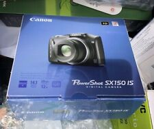 NEW Canon PowerShot SX150 IS 14.1MP Digital Camera - Red