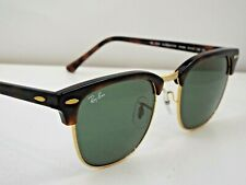Authentic Ray-Ban RB 3016 W0366 Tortoise Green Classic G-15 51mm Sunglasses $200