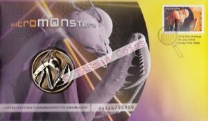 PNC Australia 2009 Micro Monsters Medallion Limited Edition 10000 # 9639