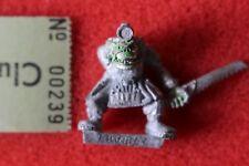Games Workshop WARHAMMER 40k Orks painboy con Bone Saw ORK metallo fuori catalogo dolore BOY