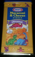 Tin Kraft Original Macaroni & Cheese Mac  Cheesasaurus Rex Collectible Container