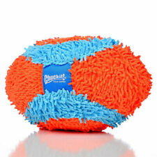 New Chuckit!-Indoor Fumbler Football Indoor Safe Dog Fetch Toy Durable Plush