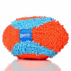 New Chuckit!-Indoor Fumbler Football Indoor Safe Dog Fetch Toy Durable Plush