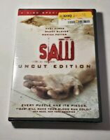 Saw Uncut Edition 2 Disc DVD 2005 New Sealed