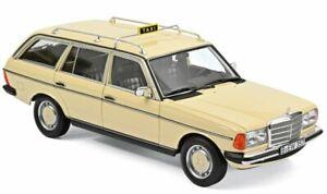 MB Mercedes Benz 200 T - W123 - 1982 - german Taxi Cab - Norev 1:18