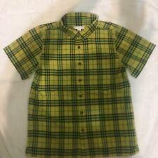 Burberry Boys Short Sleeve Shirt, 14Y
