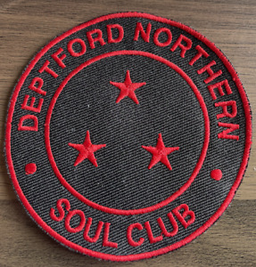 DEPTFORD NORTHERN SOUL CLUB  New Sew On Patch - Northern Soul Scene