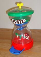 M&M's Candy Dispenser Hour Glass Shaped w/see saw & character base Toy by Mars